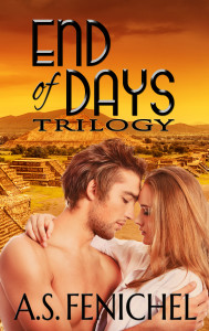 End of Days Trilogy by A.S. Fenichel ebook cover