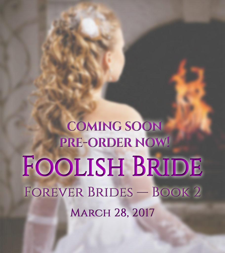 Foolish Bride pre-order graphic