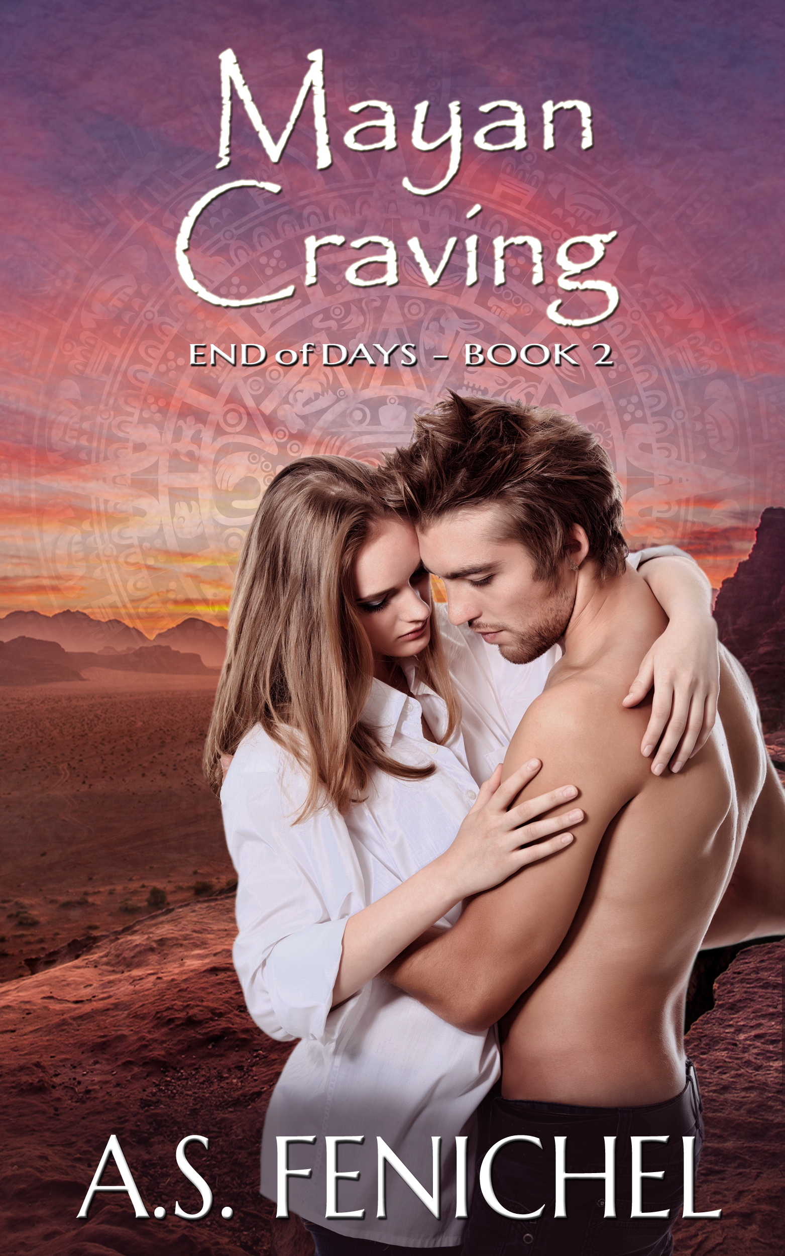ebook cover for Mayan Craving