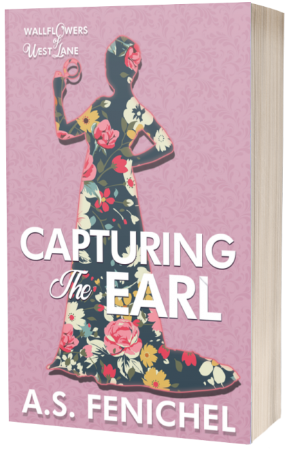 Capturing the Earl 3D paperback cover