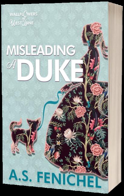 Misleading A Duke 3D paperback cover
